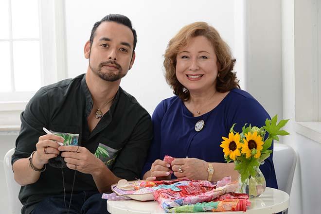 母と息子、私たちの未来図 キルト作家・キャシー中島さん(4)