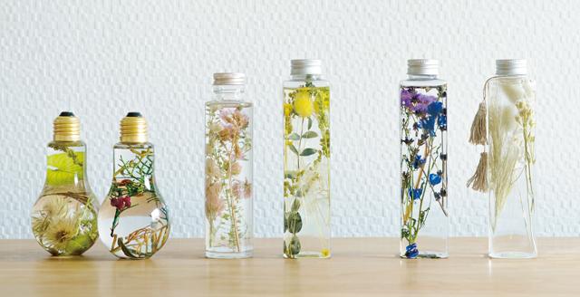 瓶の中に花が咲く。人気の「ハーバリウム」を手作りしませんか?