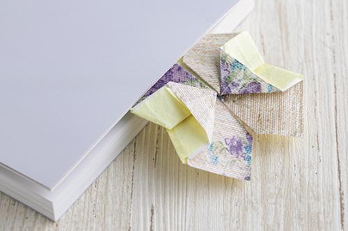 好きな色柄の紙で♪ 贈って、 使って、 楽しむ「花の折り紙」手紙の作り方【まとめ】