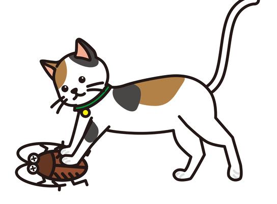 寄生虫やぜんそくの原因に⁉ やめさせたい「猫の害虫遊び」/家ねこ大全(26)