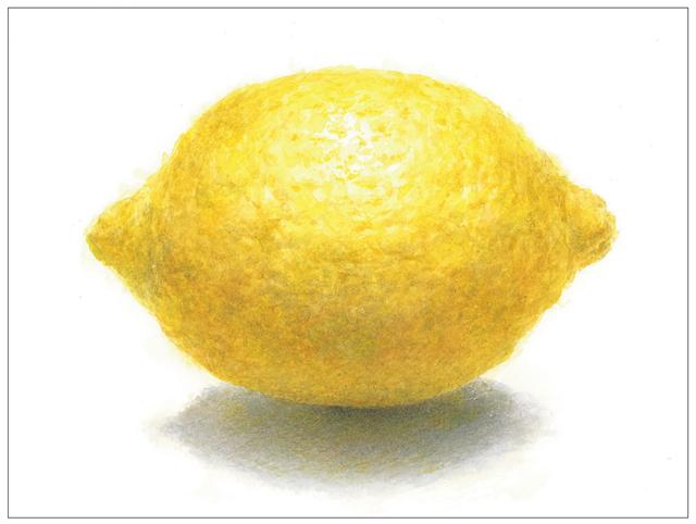紙と鉛筆を用意して♪ 『プレバト!!』出演の画家・野村重存先生が教える「レモンの描き方」