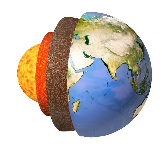 地球の中心部はドロドロの液体 !?/地球の雑学