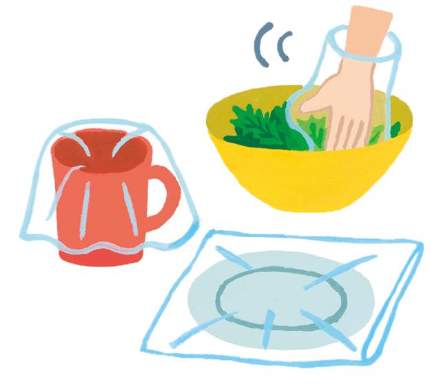 食器代わりにもトイレにもなる! 災害時に役立つ大小ポリ袋・食品ラップ活用術