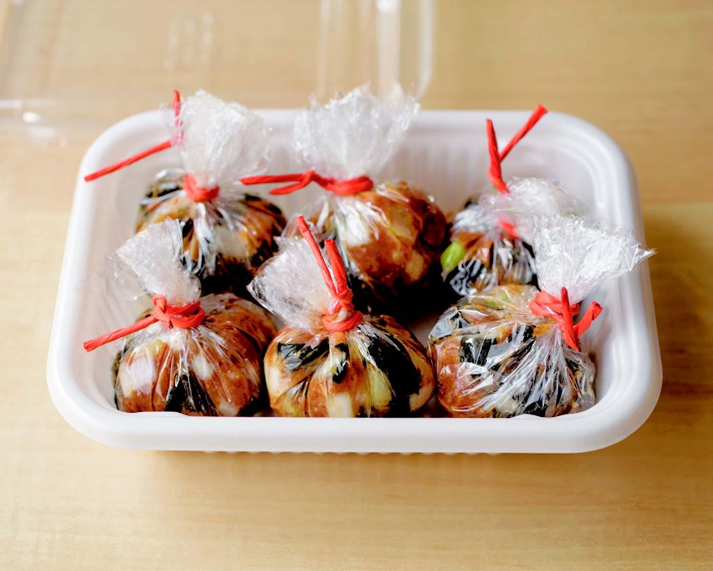 「お湯を注ぐだけでお味噌汁」のスグレモノ♪「みそ玉」レシピ