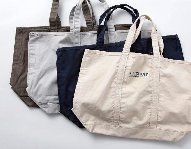 コスパのいいお買い物バッグ。人気スタイリストが10年以上使う「エル・エル・ビーンのトートバッグ」