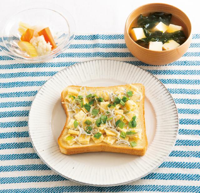 おみそ汁に合う「和の具のほっこりトースト」レシピ/朝食トーストのススメ