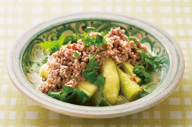 翡翠なすで見た目も涼やか!暑い夏こそ食べたい「なすのベトナム風」レシピ
