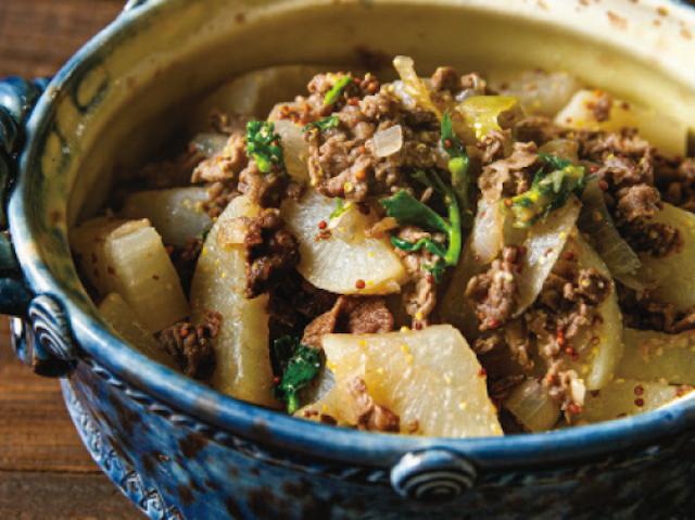 「和風に見えますが、味は完璧フレンチ」伝説の家政婦・志麻さんのレシピ「大根と牛肉のブレゼ」