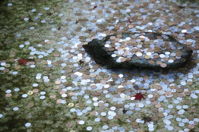 それ、実はマナー違反!池に硬貨を投げ入れていませんか?