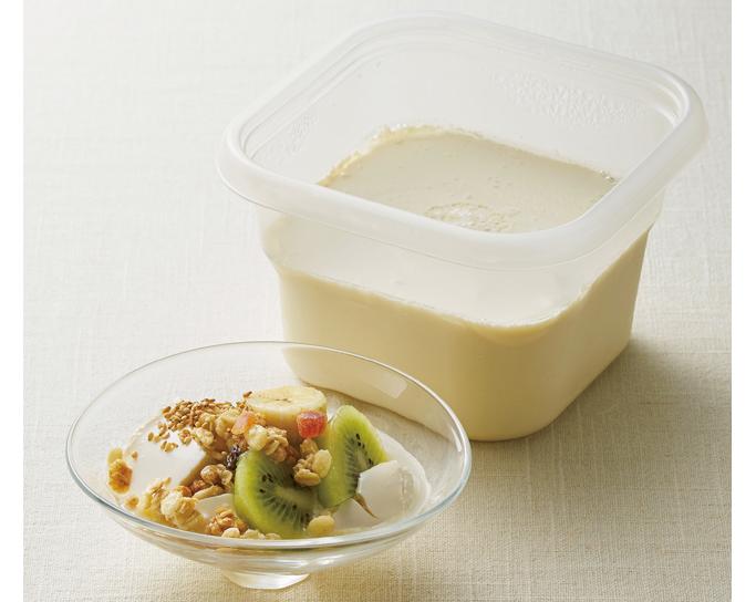 市販品+レンジで簡単!ダイエットにもオススメ「豆乳ヨーグルト」の作り方