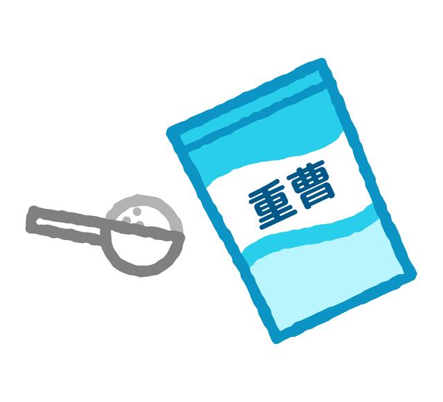 日々の油汚れや手アカ汚れにお役立ち!「重曹」/ナチュラル洗剤はこの5つ(3)