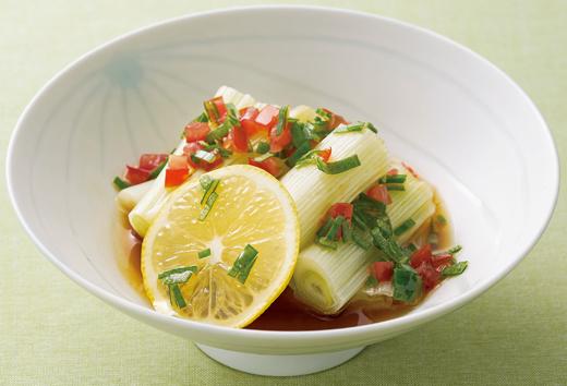 保存もきくすぐれもの。「ねぎのマリネ」レシピ/ねぎで血液サラサラ、風邪予防