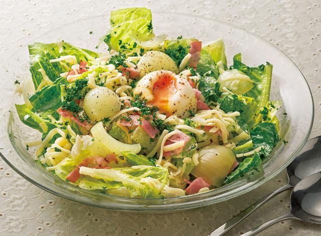 見た目も楽しい♪「丸ごと玉ねぎサラダ」レシピ
