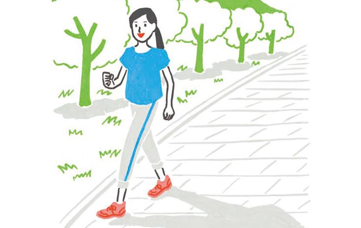 「ひざトラブル」で運動不足...という人に!「ひざにやさしい靴」でのウォーキングのススメ