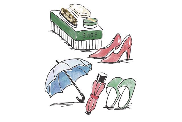 傘は長傘、折り畳み各1本だけ! やましたひでこさん「玄関」の断捨離術