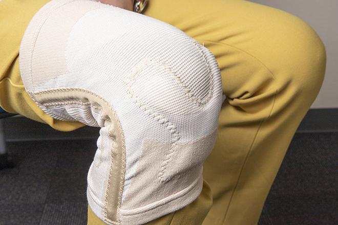 ひざのぐらつきを抑える! 人間生活工学認証を取得したひざサポーターでお悩み解決/介護グッズ