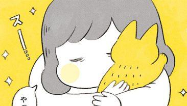 この温もり、この匂い...猫吸いは最高の癒し! /茶トラのやっちゃん(2)