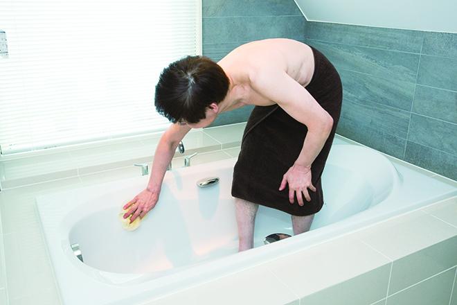 南雲先生に教わる「体も髪も浴室もピカピカ!」入浴ついでの掃除術