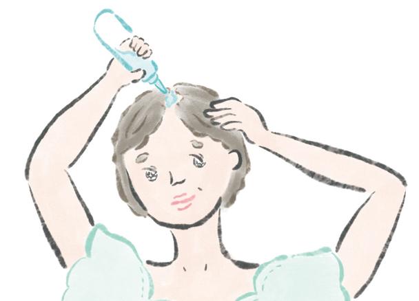 地肌が透けて見えちゃう...。シニア世代専門の美容のプロに聞いた「上手な育毛剤の使い方」