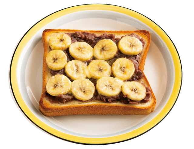 バナナあんこの優しい甘さ♪「おやつトースト」レシピ2選/朝食トーストのススメ
