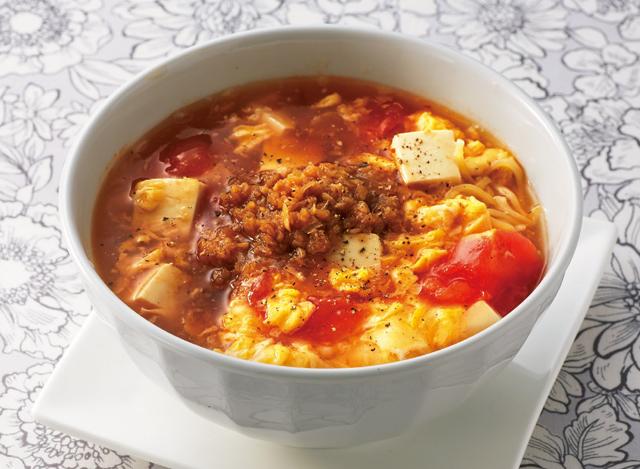 「みじん切り酢しょうが」でヘルシー! とろとろ「酸辣湯麺」レシピ/しょうがの保存食レシピ(4)