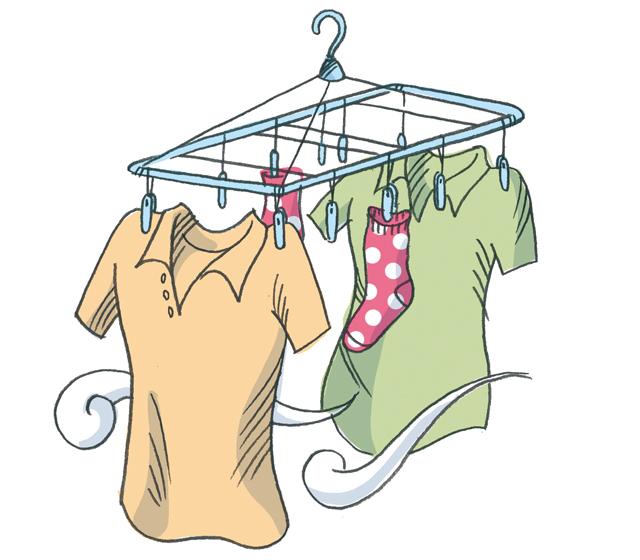 においの原因は細菌です!「生乾き臭」をさせない洗濯術