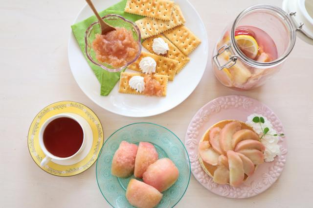 春色ティータイム♪ りんごのローズ煮を【作ってみた】/tommy