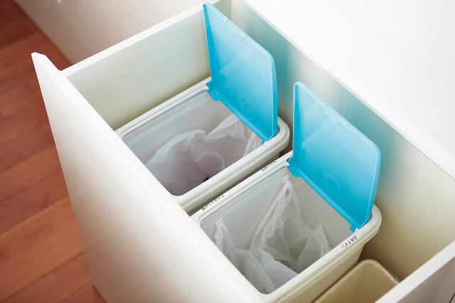 自治体の分別数だけごみ箱を!脱ぎっしりのゆとり空間で家スッキリ/リバウンドしない収納