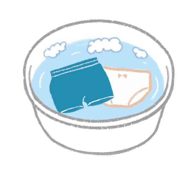 尿漏れした下着や、キッチンの布巾の煮洗いも。知っておきたい「オキシ漬け」活用術