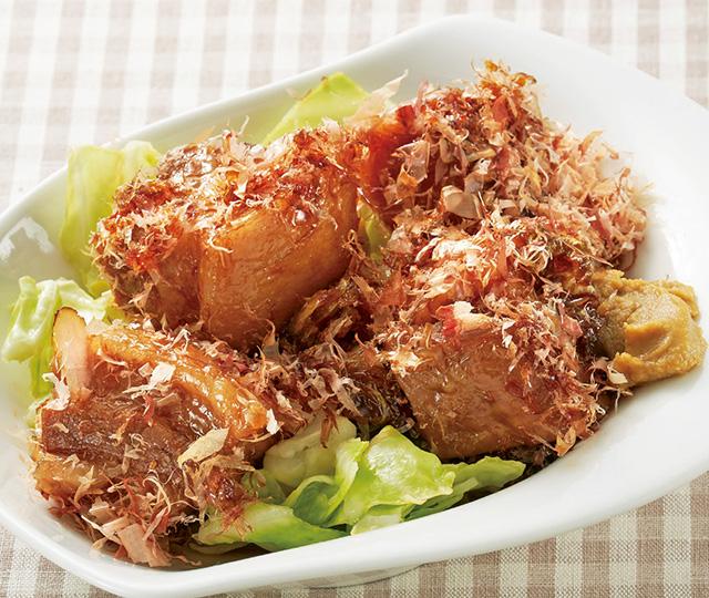 酢キャベツを使ったメインレシピ! ふっくらジューシーな「角煮」とスープごとツルリといける「水餃子」