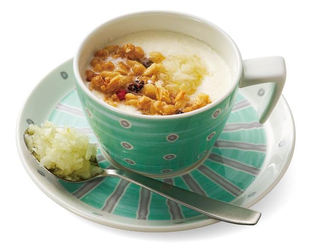 朝食に意外なおいしさを!健康レシピ「酢玉ねぎ温ヨーグルト」