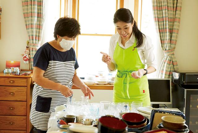 「見せる」と「隠す」をしっかり分けて!「明るいキッチン」の作り方/物を捨てない「寄せる」片付け(2)
