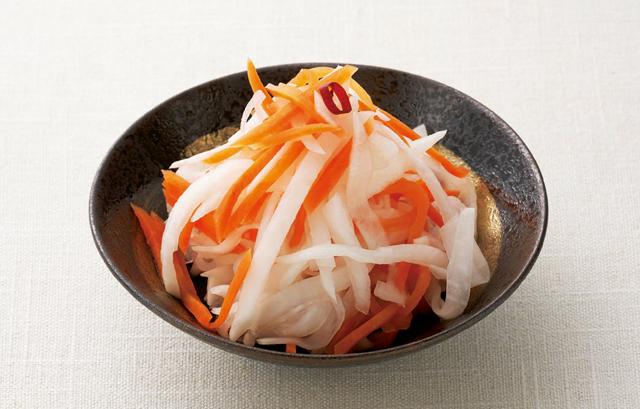 「紅白なます」も簡単にできちゃいます。村上祥子さんの「酢大根」レシピ