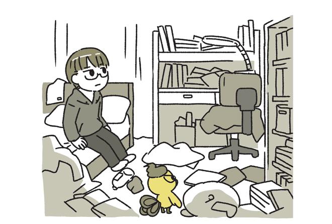 荒れた部屋は荒れた心を表す。この部屋の中にある「好き」を、自分に問いかけてみる/家族を救う片づけ