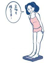 月経前に体重が増えるのは、女性ホルモンが正常な証拠!/これってホルモンのしわざだったのね(3)