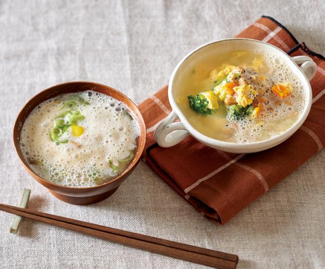 とろとろ♪ おいしくほっと温まる。「酢納豆」を使った汁もの健康レシピ
