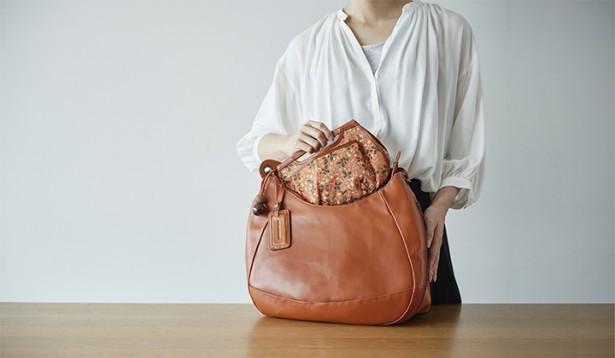 ごちゃごちゃなバッグの中がスッキリ! 「バッグインバッグ」で小物がきれいに収まる