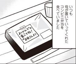 学校から帰り、一人で食べるのは、母がくれる微妙な味のコンビニ弁当/明日食べる米がない!(4)