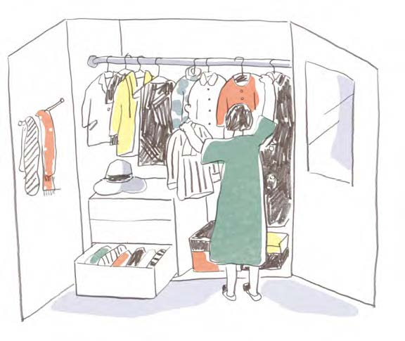 捨てるか迷った服、どうしていますか?「60代のクローゼット整理術」