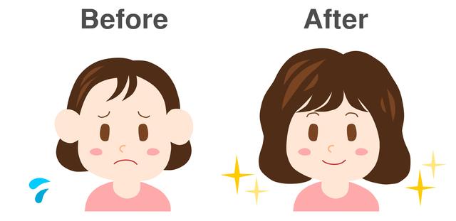 ちょっとした工夫で髪のボリュームアップ! 簡単にできる